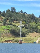 penol cross in water