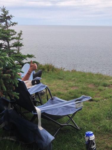 cliffsisde camping cape breton