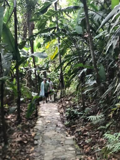 agua termales path