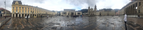 old plaza bolivar panorama