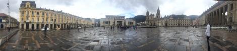 old plaza bolivar panorama