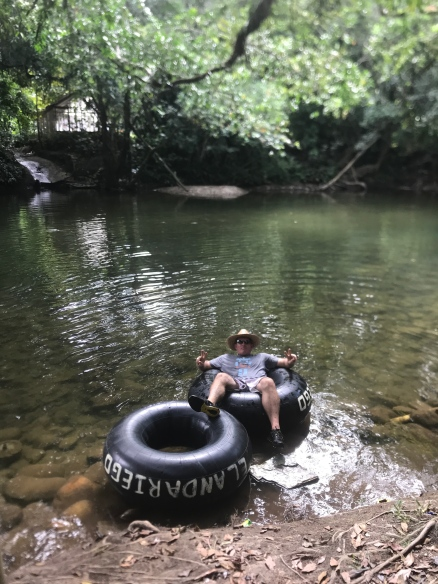 rio claro mike relaxing at river.jpg