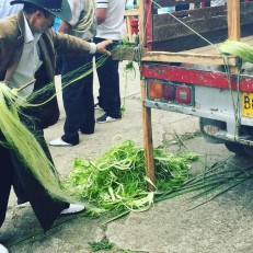 tenza festival making weaving material