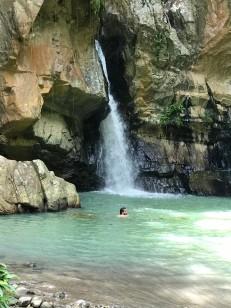 agua termales waterfall