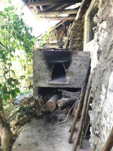 tenza house brick oven