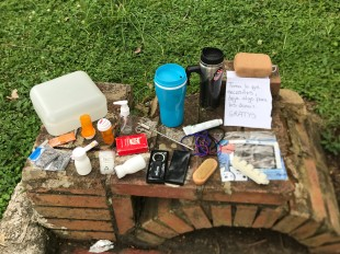 tenza park items to give away