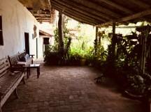 tenza patio area