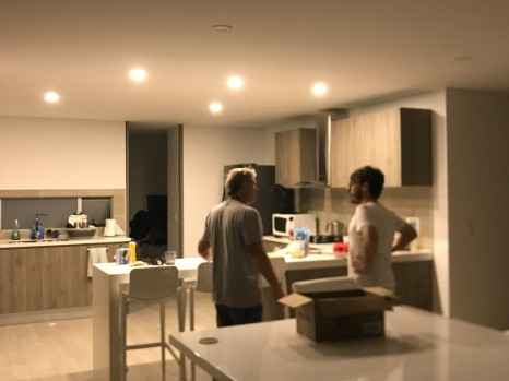 villavicencio inside apartment
